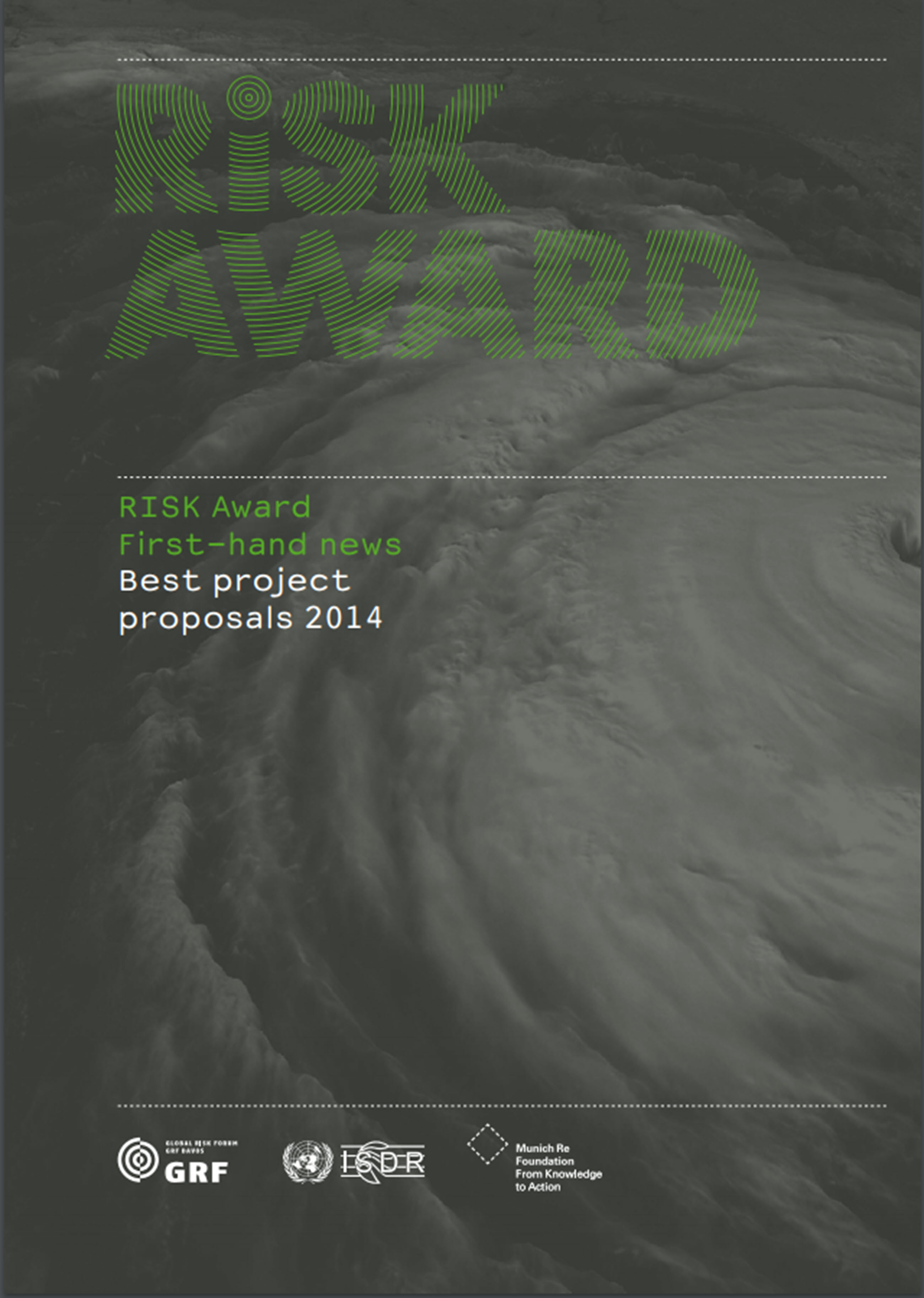 RISK Award: First-hand news - Best project proposals 2014RISK Award: First-hand news - Best project proposals 2014